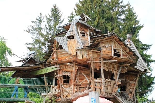 Freizeitpark Plohn - Holzmichel-Villa