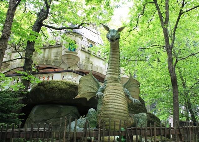 Freizeitpark Plohn - Feuerspeiender Drache