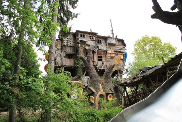 Freizeitpark Plohn - Deutschlands größtes Baumhaus