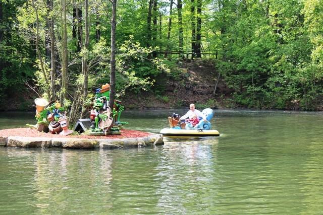 Freizeitpark Plohn - Funny Boats