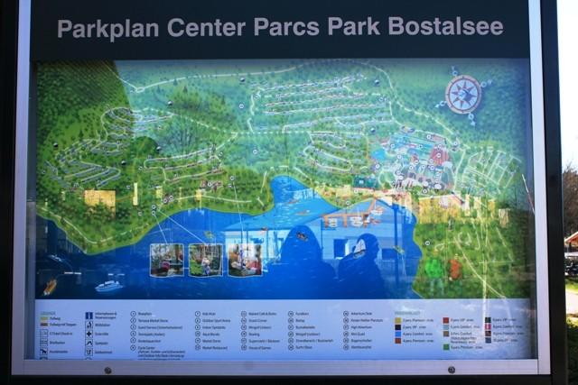 Center Parcs Bostalsee - Lageplan