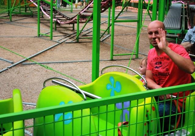 Freizeitpark Plohn - Kinderachterbahn Raupe