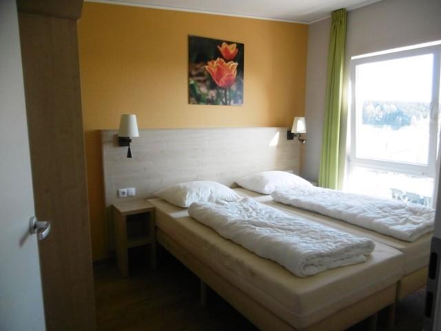 Center Parcs Bostalsee 6er Bungalow - 1. Schlafzimmer im Obergeschoss