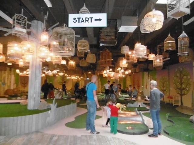 Center Parcs Bostalsee - Minigolf (Indoor)
