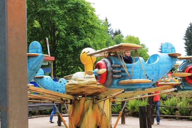 Freizeitpark Plohn - Red-Baron-Karusell