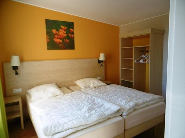 Center Parcs Bostalsee 6er Bungalow - Schlafzimmer im Untergeschoss