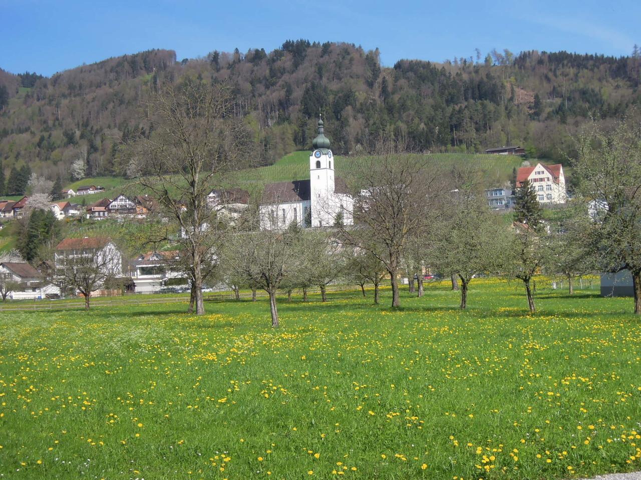 Grünflächen mitten im Dorf. Wie lange noch?