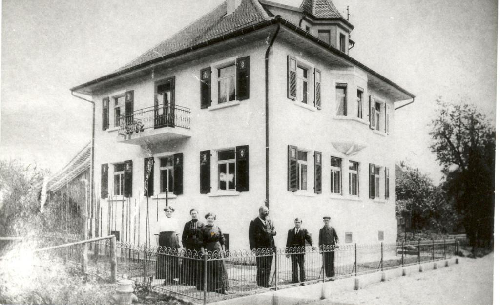 Einst: Genossenschaftsferggerei. Heute: (abgebrochen) Standort Rathaus