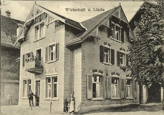 Wirtschaft zur Linde (nach 1900)