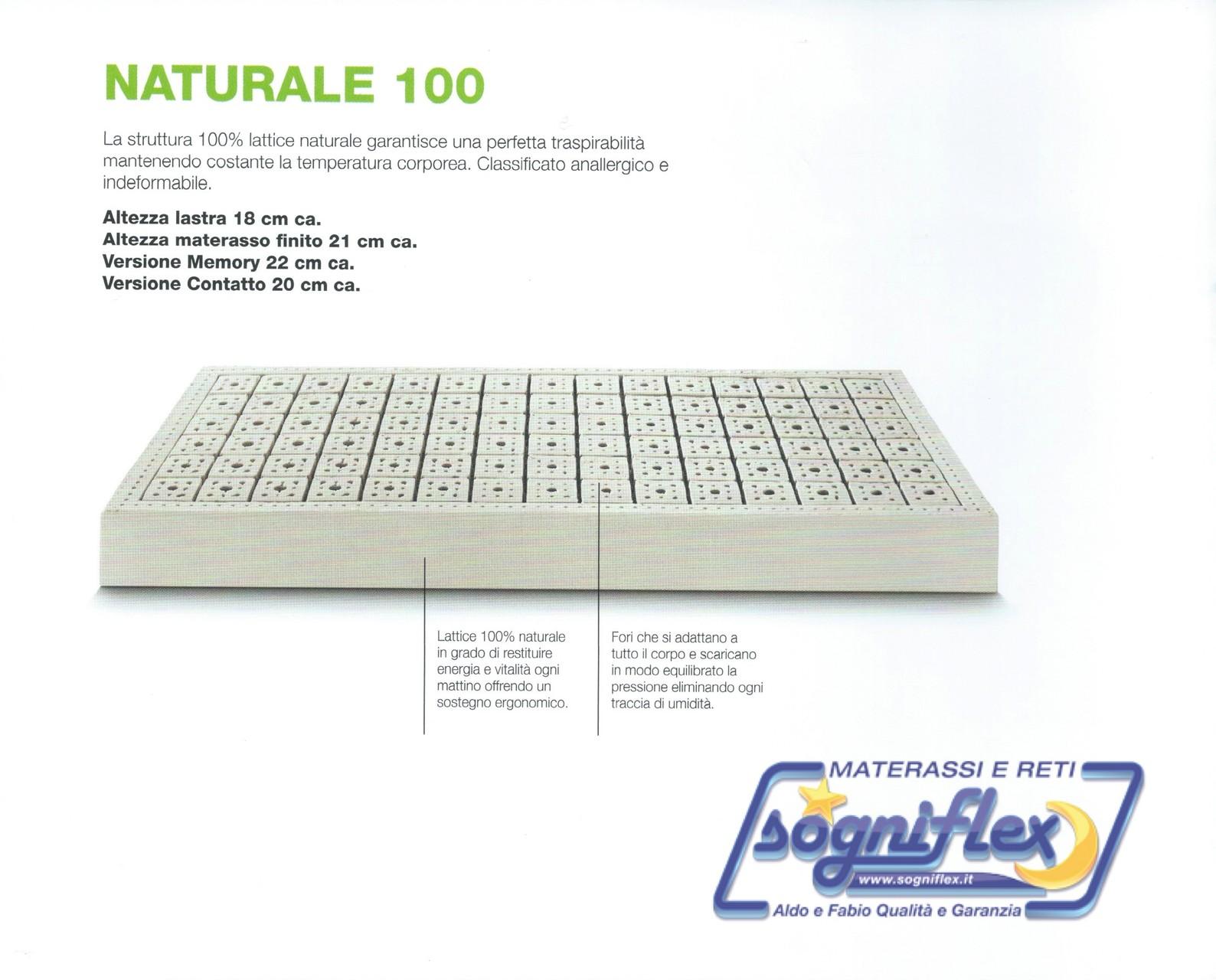 Materasso Naturale 100