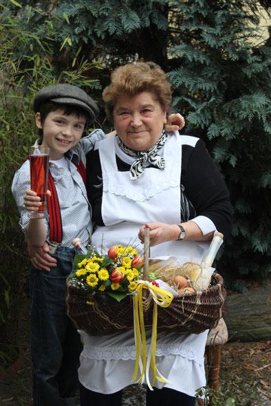 Oma Liesa mit Reinhold