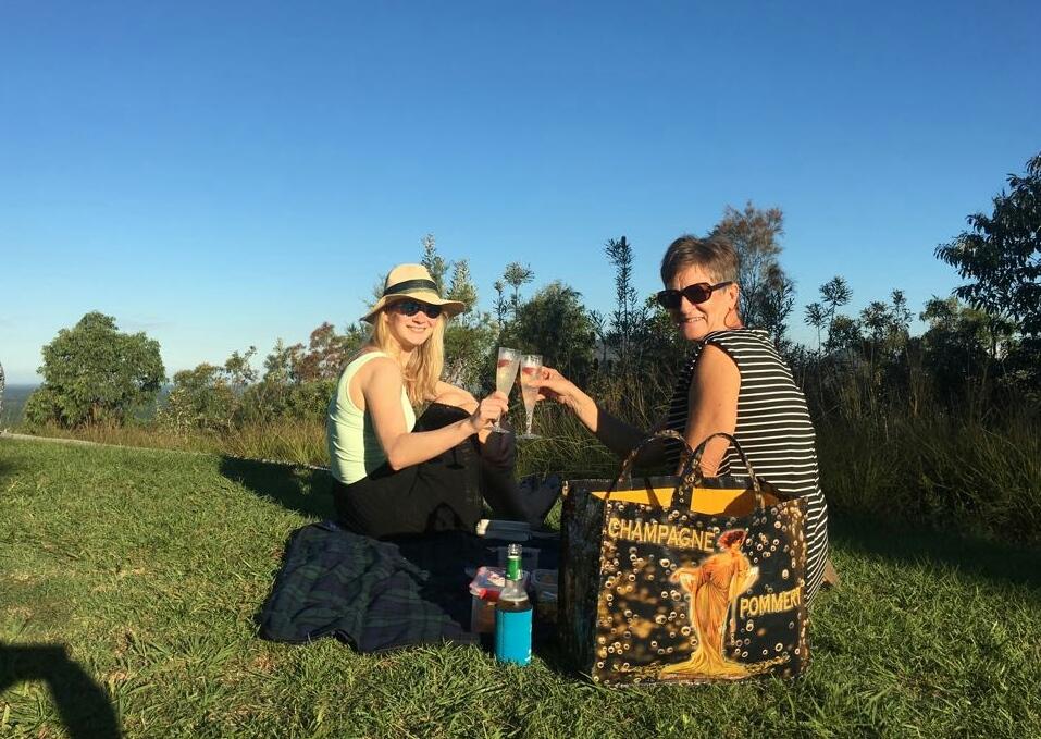 Champagner Picknick