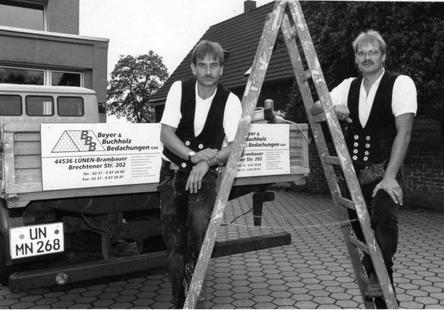 Pressefoto zur Firmengründung Mai 1995
