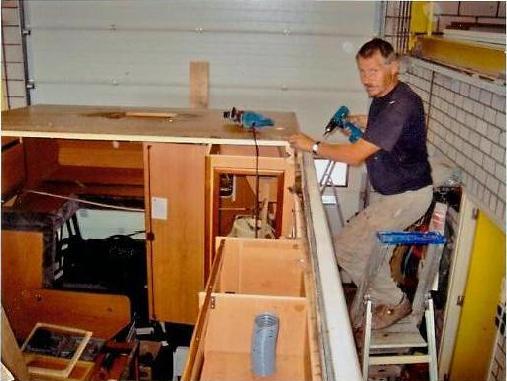 Reparatie - vervangen van dak