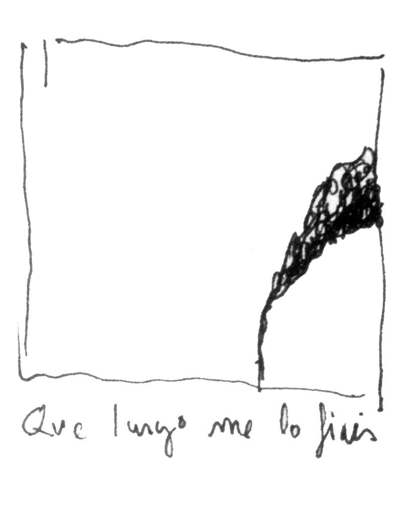 Apunte, paisaje metafisico, conversaciones con el humo negro 5 (1995)