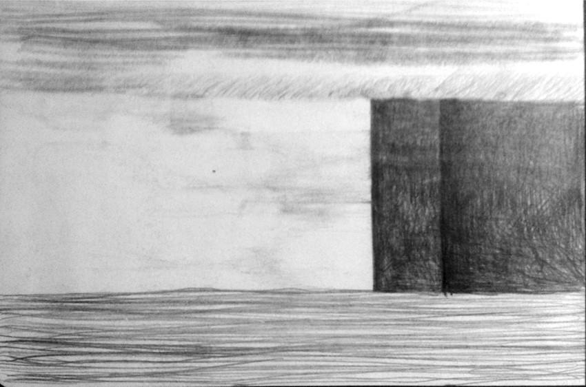 Apunte, paisaje metafisico, conversaciones con una chimenea 5 (1995)