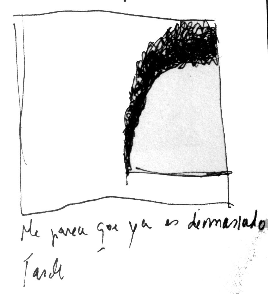 Apunte, paisaje metafisico, conversaciones con el humo negro 2 (1995)