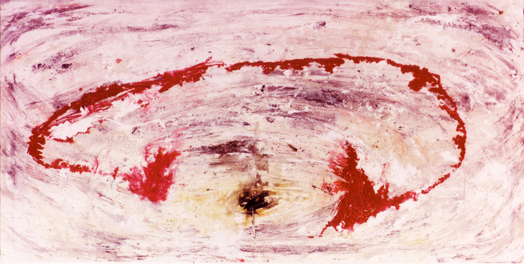 Ruptura de un circuito vital (La Muerte) 1992 0.9 x 2mts.
