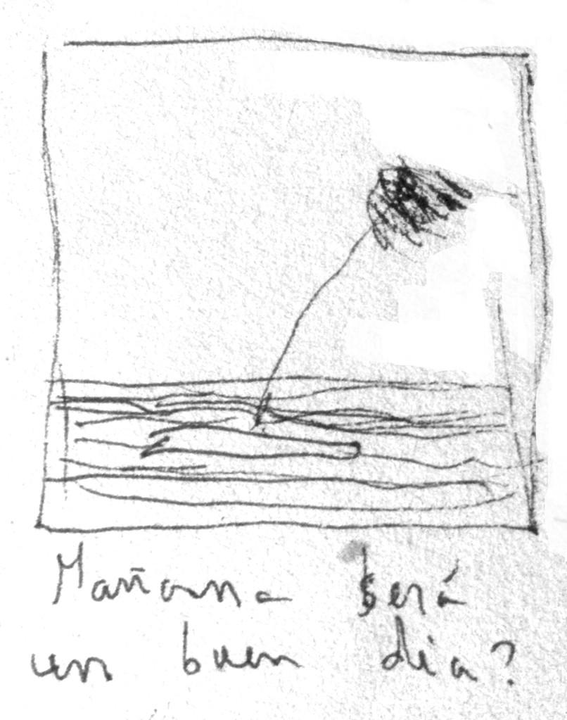 Apunte, paisaje metafisico, conversaciones con una palmera 2 (1995)