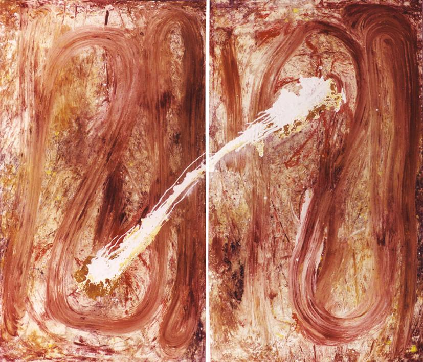 La Suerte (Los dados) 1993 2,3 x 3,7 mts.