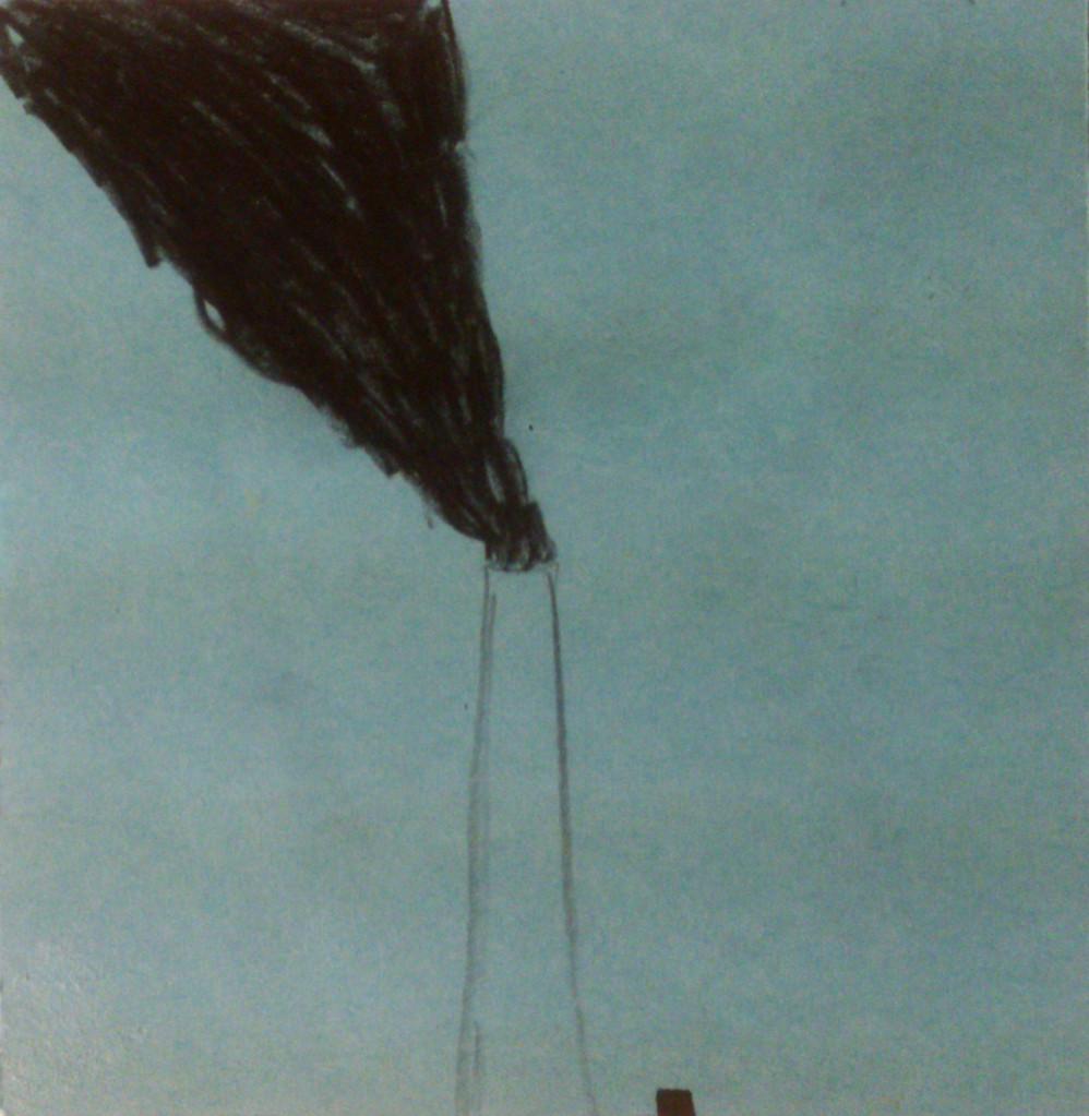 Apunte, paisaje metafisico, conversaciones con el humo negro 7 (1995)