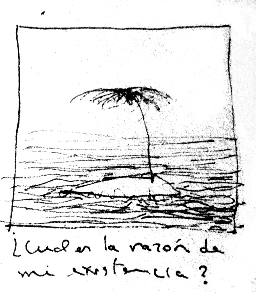 Apunte, paisaje metafisico, conversaciones con una palmera 3 (1995)