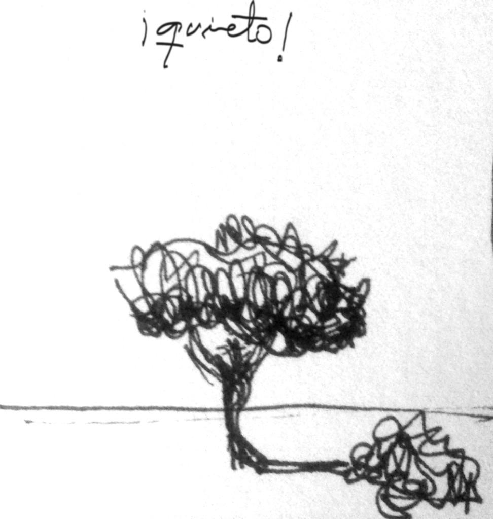 Apunte, paisaje metafisico, conversaciones con un ciprés 4 (1995)