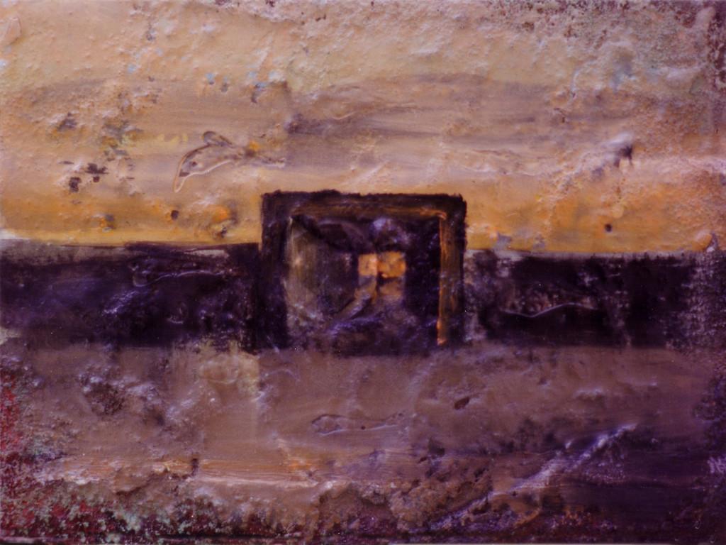 La entrada de un pequeño túnel del laberinto 1993