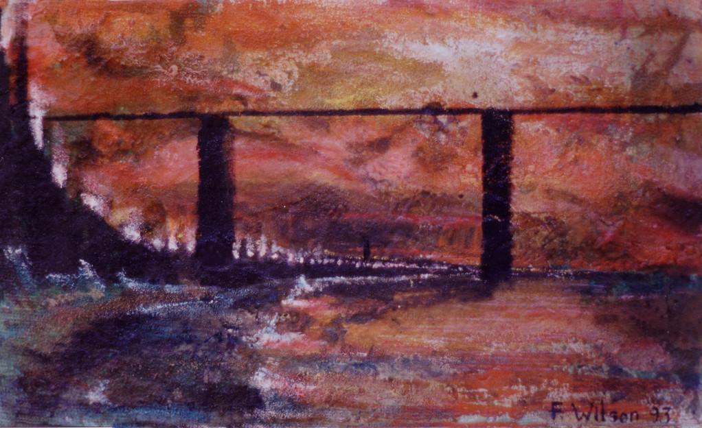 Puente para un océano desde las murallas del laberinto 1993