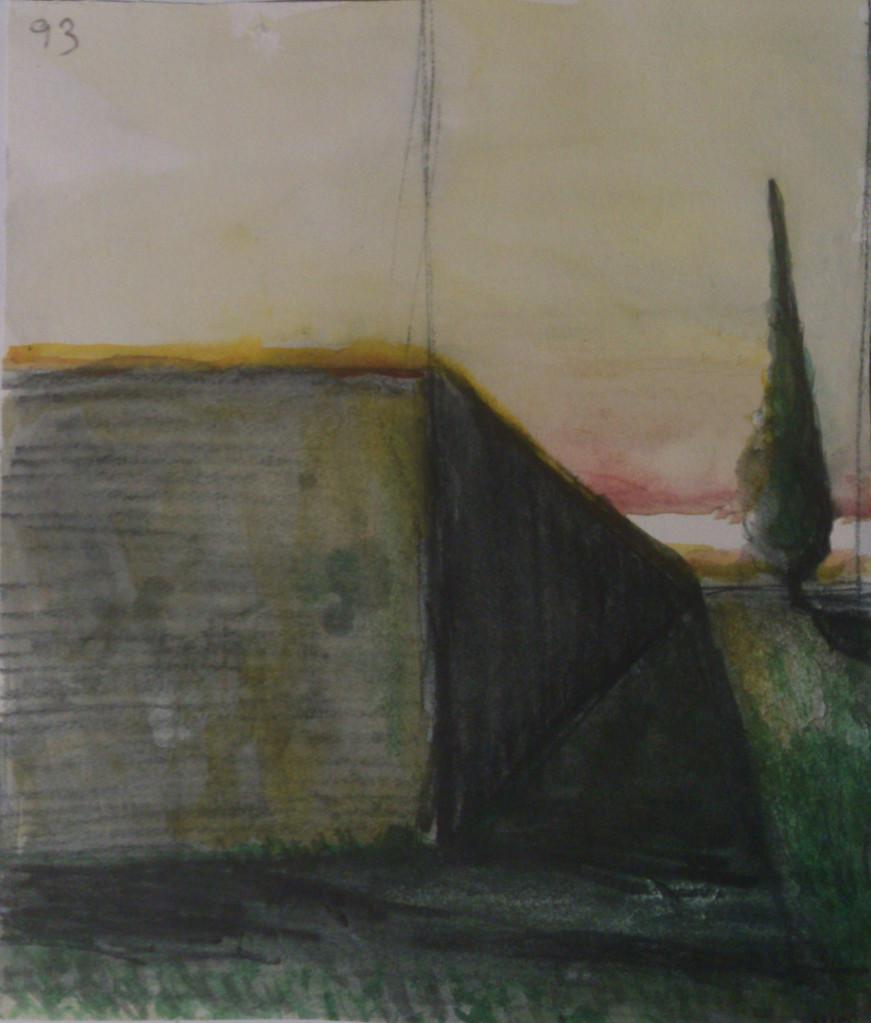 Apunte, paisaje metafisico 3 (1995)