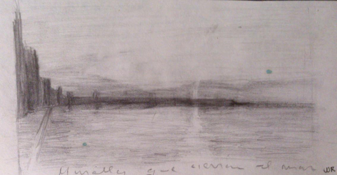 Apunte, paisaje metafisico 4 (1995)