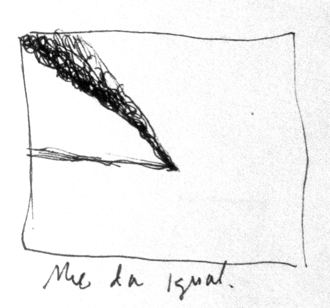 Apunte, paisaje metafisico, conversaciones con el humo negro 3 (1995)
