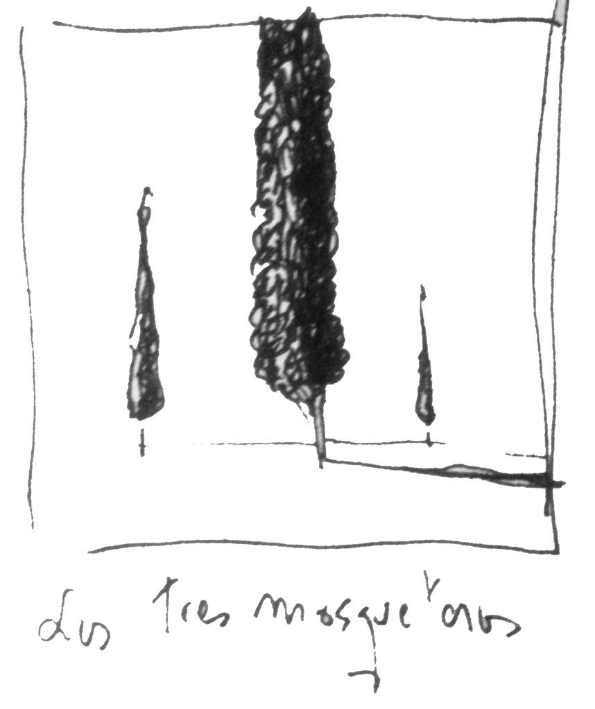 Apunte, paisaje metafisico, conversaciones con un ciprés 2 (1995)