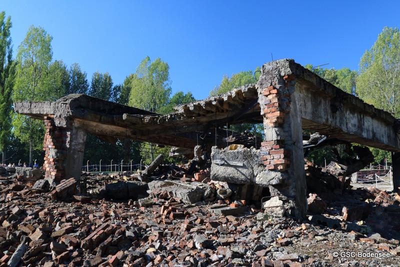 Ruine der Krematorium II