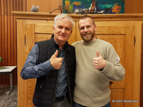Revisor Frieder Leupolz & Radsportleiter Christoph Mientus