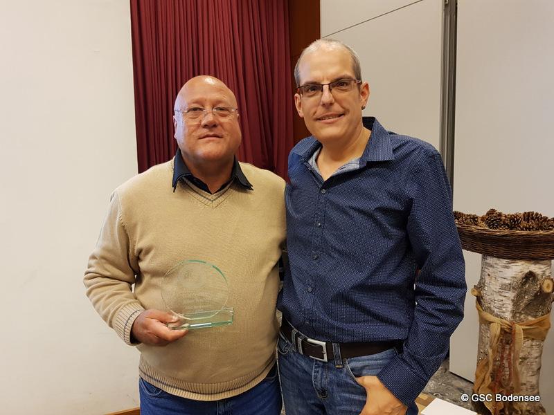 20 Jahre Mitglied Rainer Wachter