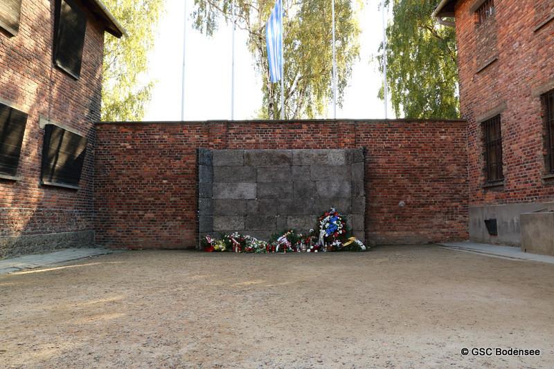 """Todeswand"", hier wurde ca. 20.000 Gefangene erschossen"