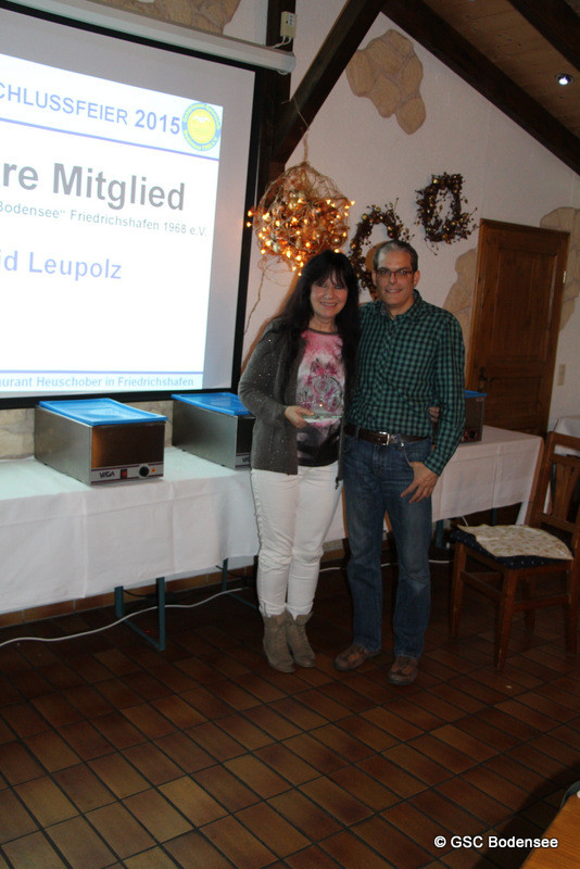 30 Jahre Mitglied Astrid Leupolz