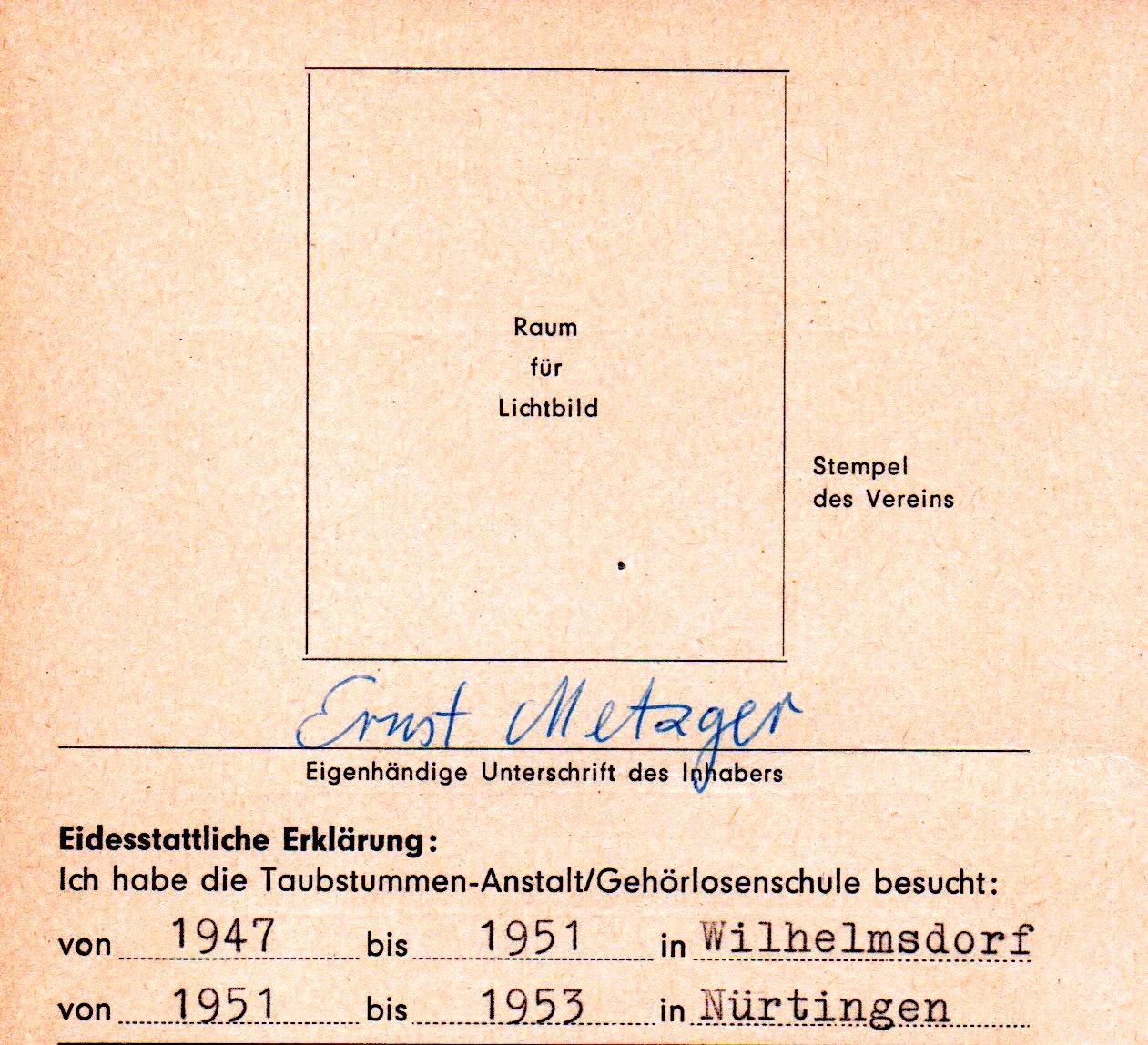 Ernst Metzger