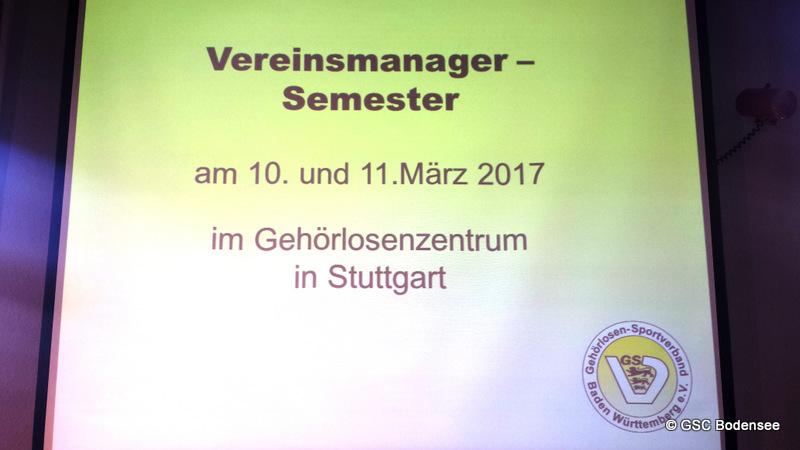 Vereinsmanager in Gl-Zentrum Stuttgart