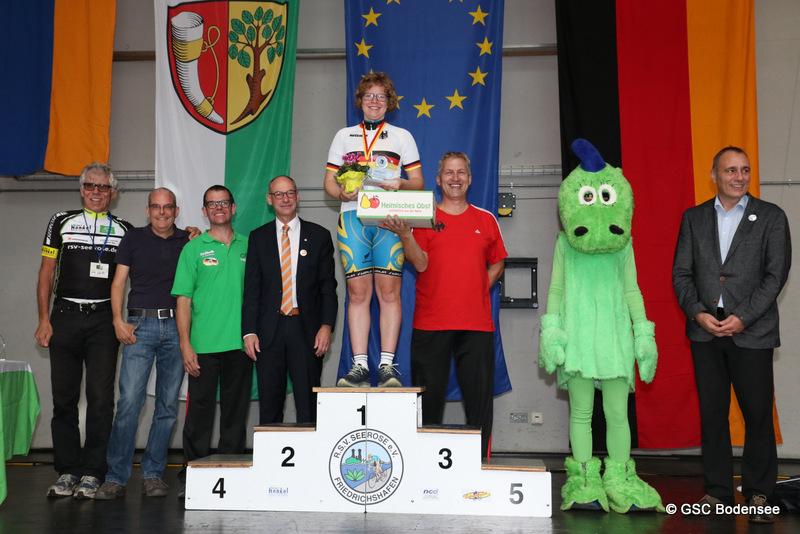 1.Platz Damen Straßenrennen Bianca Metz