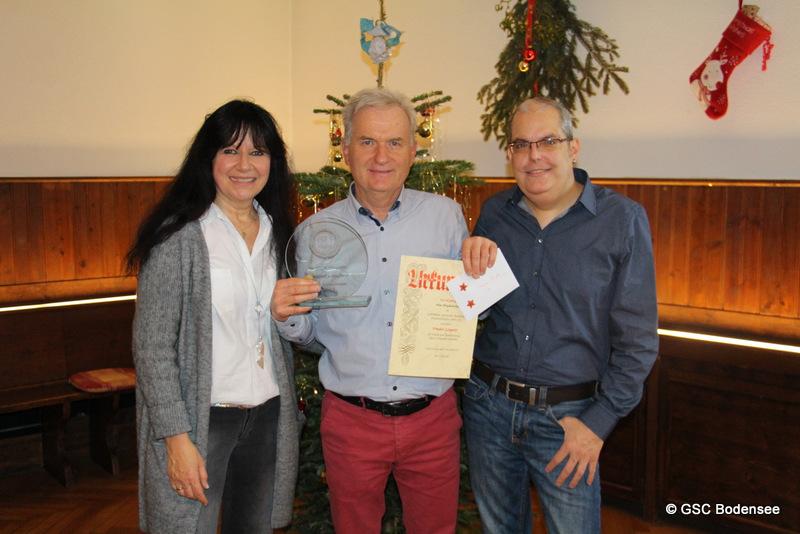 Ehrung 40 Jahre Mitglied Frieder Leupolz