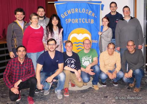 Neue Vorstandschaft GSC Bodensee
