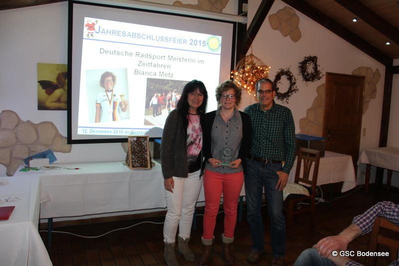 Gratulation Deutsche Meisterin Radsport Bianca Metz