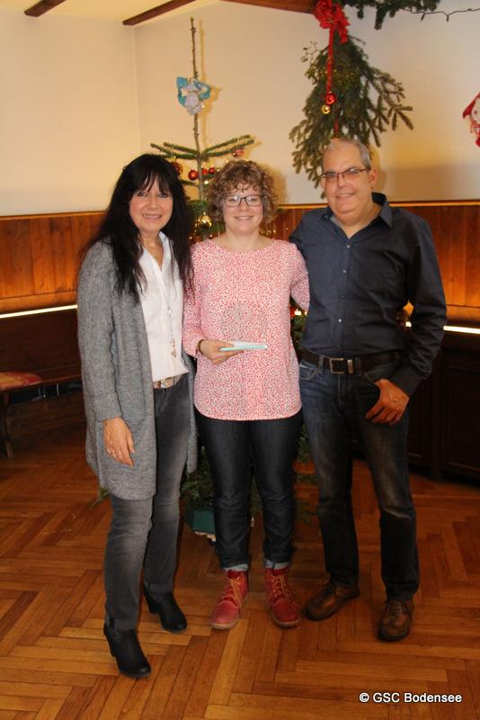 Ehrung Deutsche Meisterin Radsport in Zeitfahren und Straßenrennen Bianca Metz