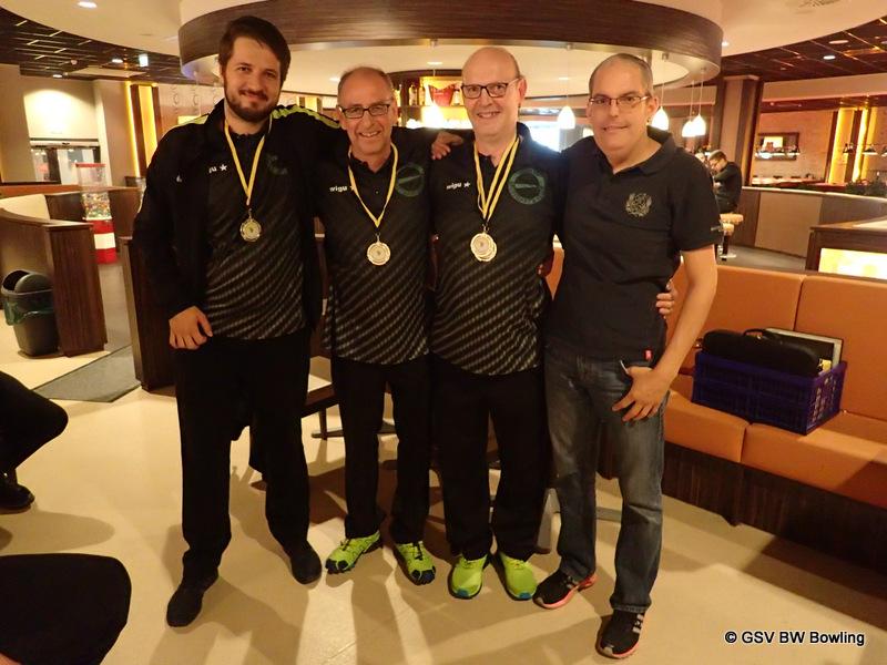 Ehrung Herren Trio 1.Platz GBKSV Stuttgart