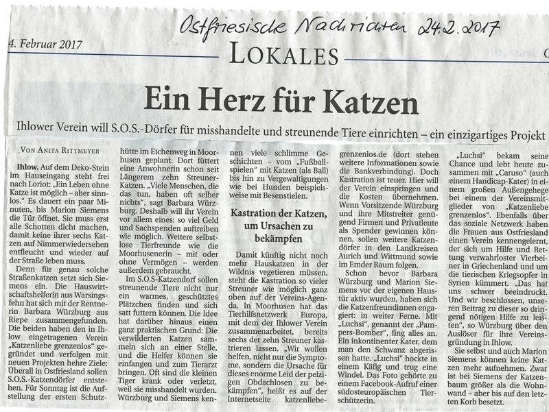 ©Ostfriesische Nachrichten - Anita Rittmeyer