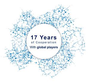 Kooperation mit Global Playern der Pharma Branche