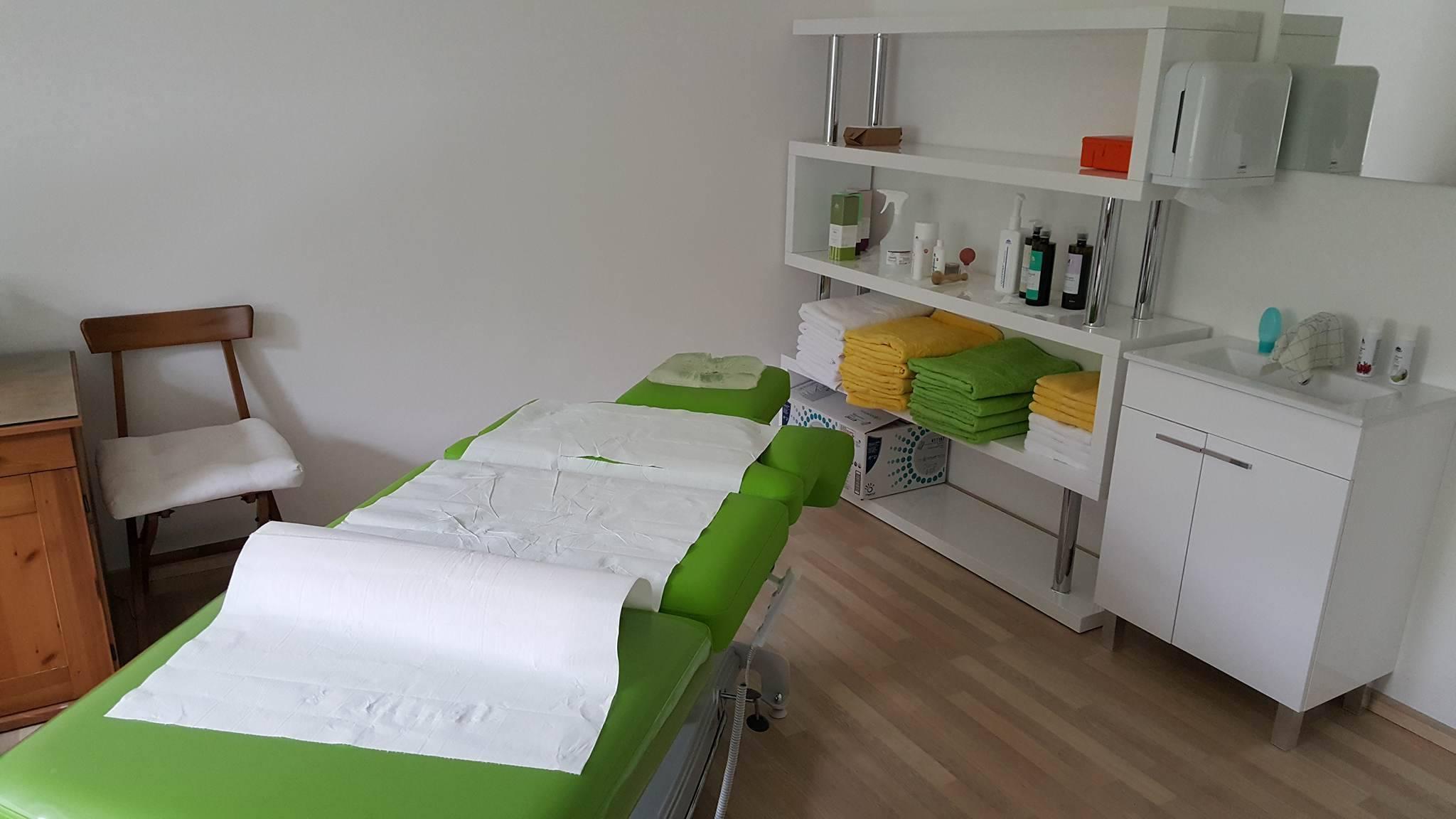 Massagepraxis zum Wohlfühlen