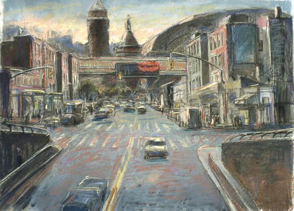 """""""Kingsbridge Road"""" by Daniel Hauben"""